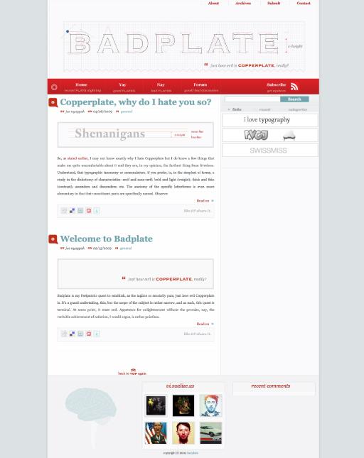 web-badplate